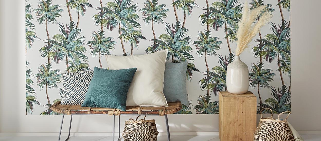 5 motifs pour adopter le papier peint végétal sans avoir peur d'en faire trop !