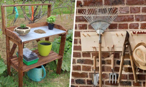 De la caisse à outils à la serre à semis, nos meilleurs tutos pour les fans de jardinage