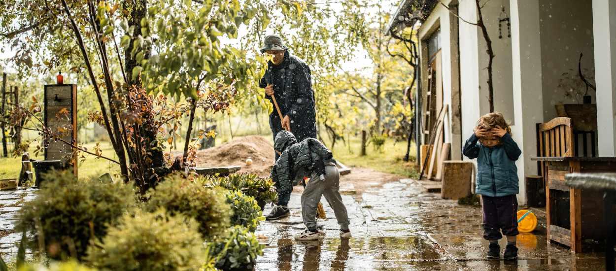 Aménagez votre jardin pour protéger votre maison des inondations