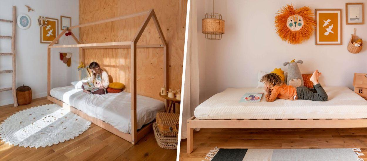 Ce lit cabane évolutif se transforme en lit sur pieds quand votre enfant grandit