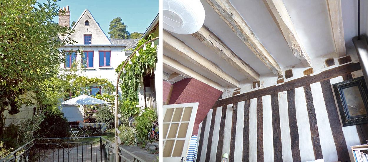 Un passionné fait tout pour restaurer l'état d'origine de cette ancienne maison du XVIe siècle