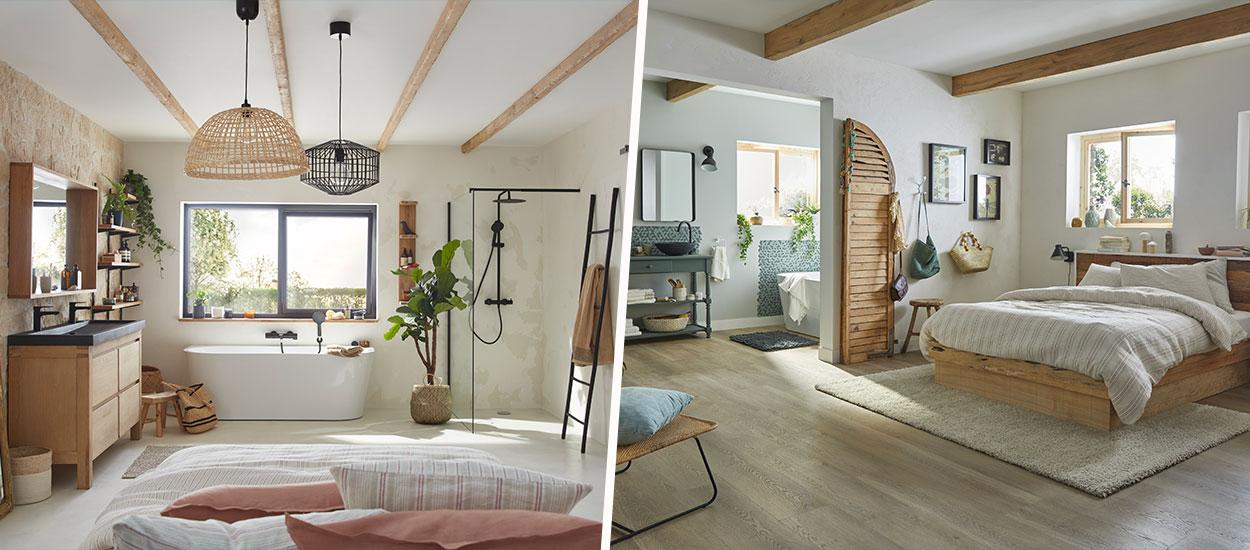 6 configurations pour aménager la suite parentale adaptée à votre logement