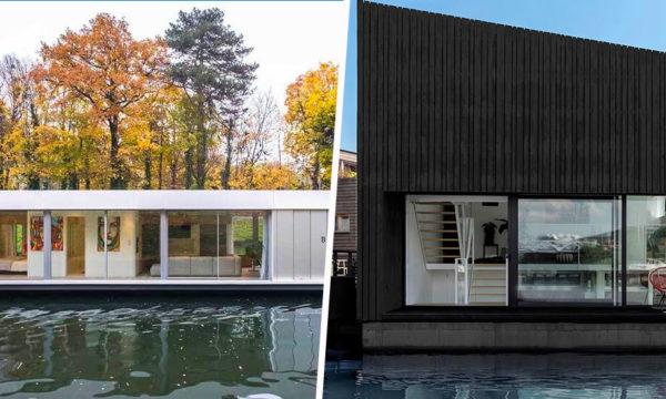 Top 10 des plus belles maisons sur l'eau repérées sur 18h39