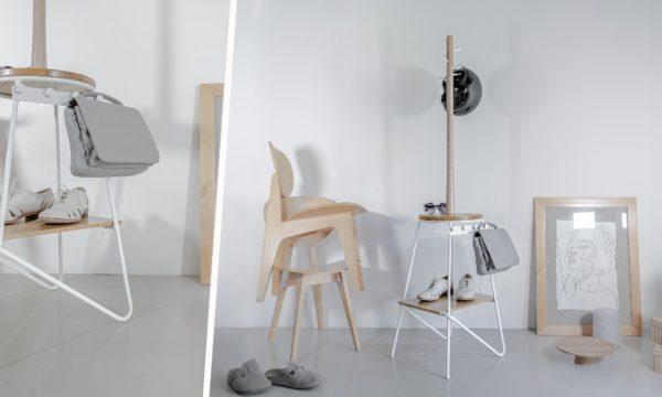 Tuto : Transformez un tabouret en portemanteau design