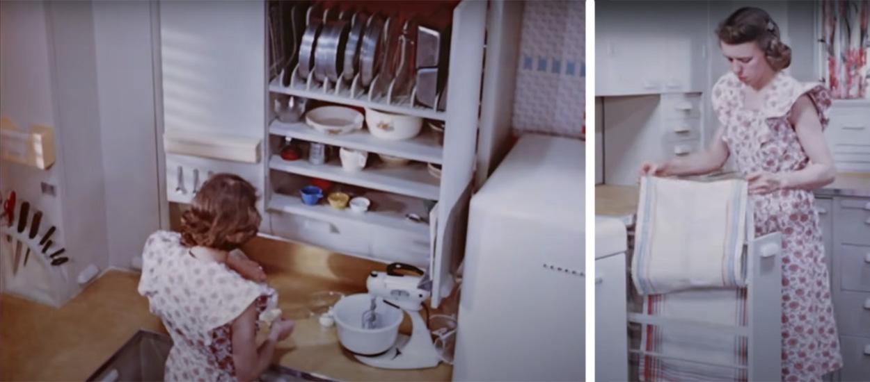 10 idées d'aménagement à piquer à cette cuisine des années 50 pour vous faciliter la vie
