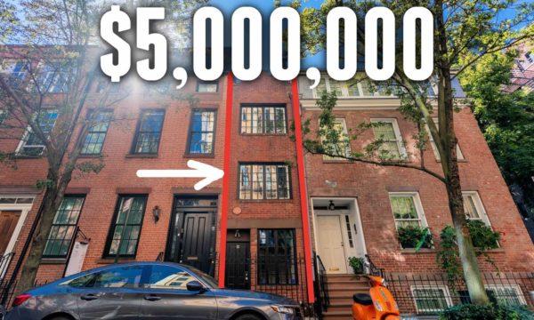 Découvrez en vidéo la maison la plus étroite de New-York
