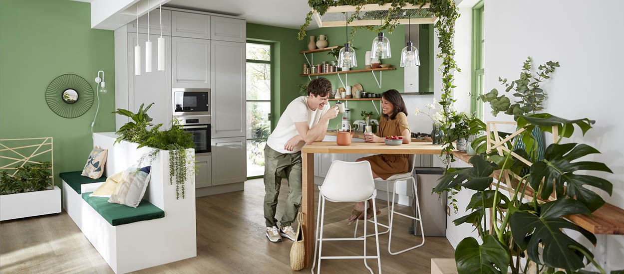 """6 inspirations déco pour une cuisine """"nature"""""""